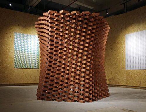 A Shenzhen, in Cina, in mostra un Padiglione di terracotta stampato in 3D